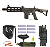 US Army Project Salvo Paintball Marker Gun 3Skull Super Mega Set