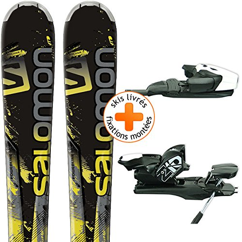 Salomon sci All Mountain, Nero/Giallo