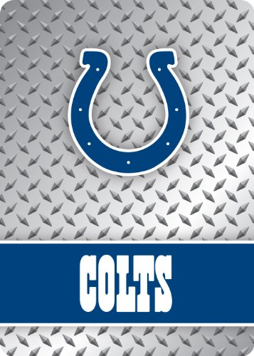 NFL Indianapolis Colts Diamond Plate Playing Cards