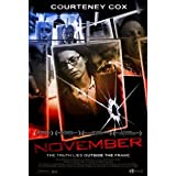 November [DVD]by Courtney Cox