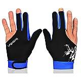 BOODUN Billard Handschuhe 3 Finger Snooker Cue Shooters Handschuhe