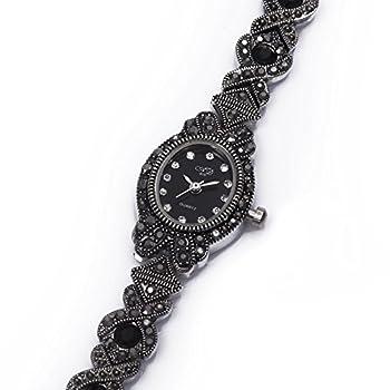 TAWURS Black Retro Ladies Watches in women