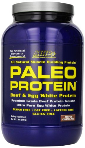 Maximum Human Performance Paleo Protein Supplement, Triple Chocolate, 28 Servings