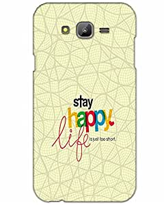 MobileGabbar Samsung Galaxy J7 Back Cover Plastic Hard Case