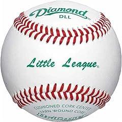 Buy Diamond Little League Tournament Grade Baseball, Dozen by Diamond Sports