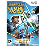 Star Wars The Clone Wars: Lightsaber Duels (Wii)by Activision