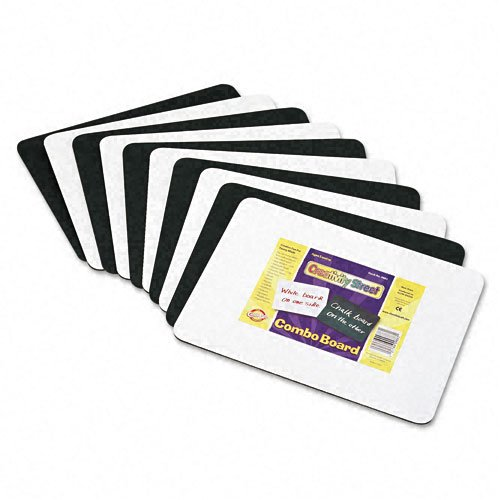 Chenille-Kraft-9883-10-Chenille-Kraft-Combination-Dry-EraseChalkboard-Pack-of-10