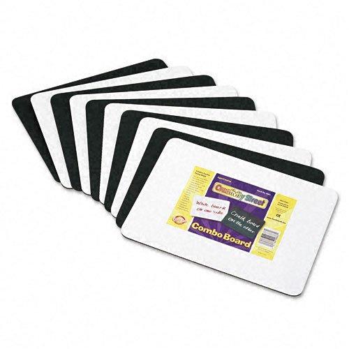 Chenille Kraft 9883-10 Chenille Kraft Combination Dry-Erase/Chalkboard (Pack of 10)
