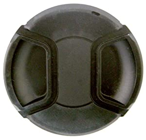 Zeikos ZE-LC52 52mm Plastic Snap On Lens Cap (Black)