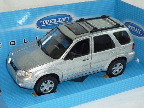 ford-escape-maverick-limited-2005-silber-suv-1-24-welly-modellauto-modell-auto