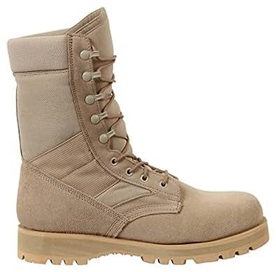 "Rothco 8"" Desert Tan Sierra Sole Boot, 10R"