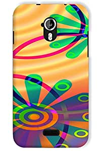 IndiaRangDe Hard Back Cover FOR Micromax A116 Canvas HD