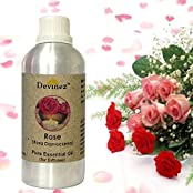 Devinez Rose Essential Oil For Electric Diffusers/ Tealight Diffusers/ Reed Diffusers, 1000ml