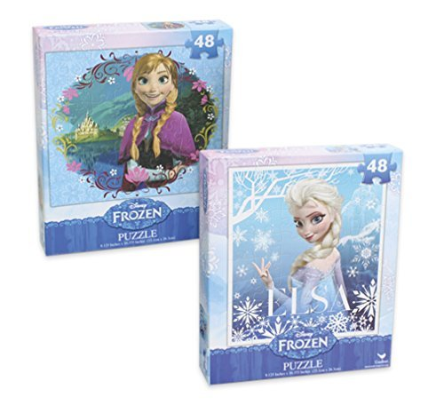 "Disney's Frozen 48pc Jigsaw Puzzle 9.12"" X 10.37"" [1-Pack], Assorted"
