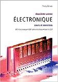 echange, troc Thierry Gervais - Electronique 2e année : Cours et exercices BTS électronique/DUT génie électrique/Licence EEA