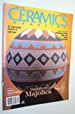 img - for Ceramics Magazine, March 1992 - Magnificent Majolica book / textbook / text book