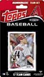 2014 Topps Arizona Diamondbacks Factory Sealed Special Edition 17 Card Team Set with Paul Goldschmidt Plus