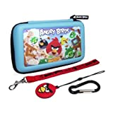 Angry Birds 3D Gamer Carry Case Set - 4PC: Blue (Nintendo 3DS/DS)
