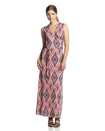Leota Women's Faux Wrap Maxi Dress