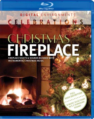 Christmas Fireplace [Blu-ray] (Fireplace Dvd Blu Ray compare prices)