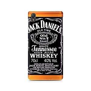 Ebby Jack Daniels Whiskey Premium Printed Case For Sony Xperia Z2 L50W