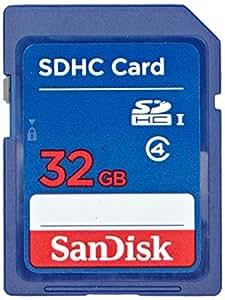 SanDisk SDHC 32GB Speicherkarte (Amazon Frustfreie Verpackung)
