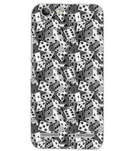 PrintDhaba DICES D-6921 Back Case Cover for LENOVO A6020a46 (Multi-Coloured)