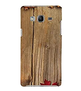 PrintVisa Wooden Design 3D Hard Polycarbonate Designer Back Case Cover for SAMSUNG Z3 Tizen