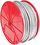 Koch 002023 1/16 by 500-Feet 7 by 7 Cable , Galvanized