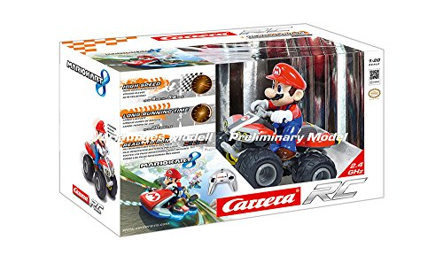 Carrera R/C 864745 - Mario Kart 8 Quad Veicolo Radiocomandato
