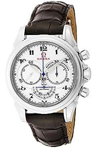[オメガ]OMEGA 腕時計 デ・ビル コーアクシャル ホワイト文字盤 コーアクシャル自動巻 クロノグラフ 422.13.41.50.04.001 メンズ 【並行輸入品】