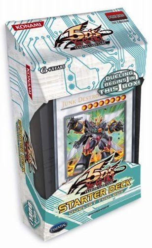 YuGiOh 5Ds 2010 Starter Deck Duelist Toolbox ENGLISH 1st Edition Deck