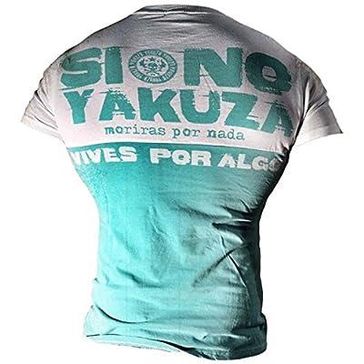Yakuza ORIGINAL T-Shirt TSB 621 - turquoise moonwashed