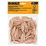 DEWALT DW6810 No. 10 Size Joining Biscuits (75 Pieces)