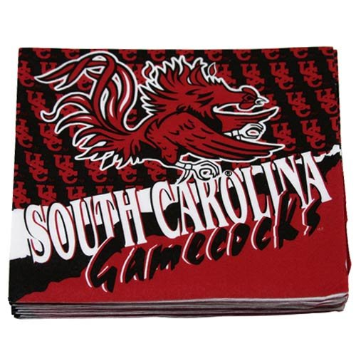 NCAA South Carolina Gamecocks 16-Count Luncheon Napkins - 1