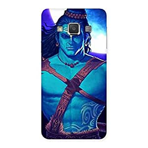 Warior Shiva Blue Back Case Cover for Galaxy A3