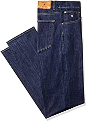 Gant Men's Slim Fit Jeans (8907163996077_GMJHB0019_34W x 34L_Dark Blue)