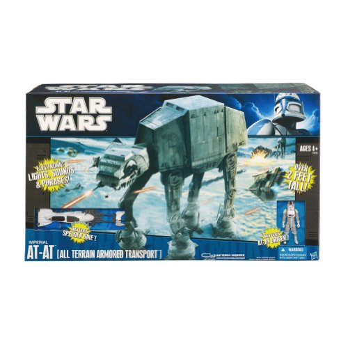 Star Wars 174 Imperial AT-AT All Terrain Armored Transport Vehicle (At At Toy compare prices)