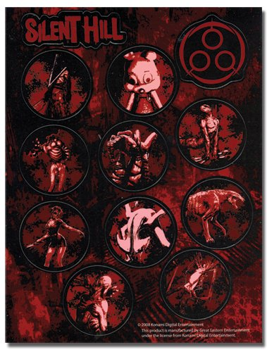 Silent Hill Homecoming Monster Sticker Sheet Set