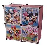 Regalsystem Kleiderschrank Regal Kinderzimmer Garderobe Kindermöbel Schrank