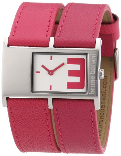 Bruno Banani Women's Quartz Watch BR21039 with Leather Strap