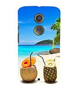 Enjoy The Nature 3D Hard Polycarbonate Designer Back Case Cover for Motorola Moto X2 :: Motorola Moto X (2nd Gen)