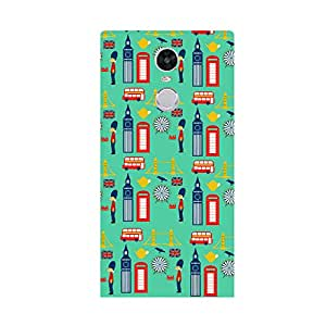 Skintice Designer Back Cover with direct 3D sublimation printing for OnePlus X