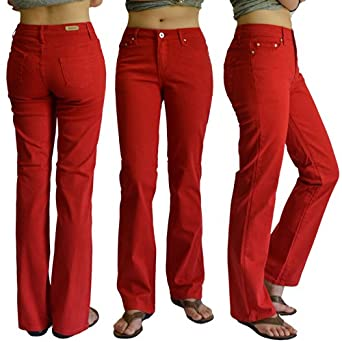 Fantastic Red Jeans For Women  Jeans Am
