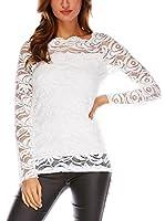 Uniq Camiseta Manga Larga Sally (Blanco)