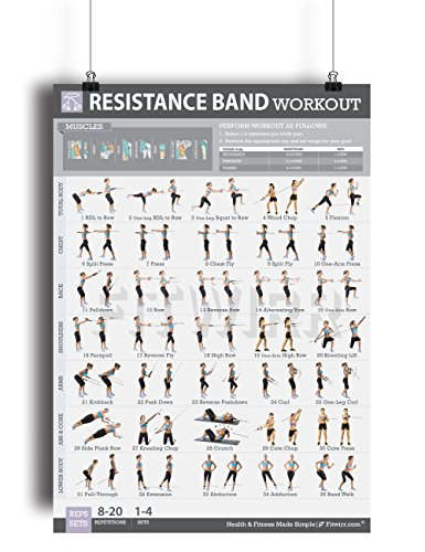Fitwirr Women's Resistance Band Exercises