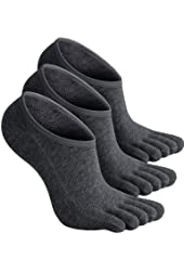 Haslra Excellent stretch Long Toe Socks 3 Pairs
