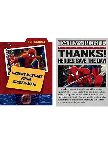 Ultimate Spider-Man Invitations and Thank You's (8ct ea.)