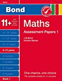 Andrew Baines New Bond Assessment Papers Maths 9-10 Years Book 1