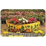 Minerva Naturals - Ready To Plant Raised Garden Bed YELLOW(3 Feet X 1 Feet X 1 Feet)